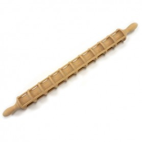 "18"" Italian Ravioli Mold Rolling Pin"
