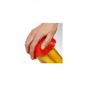 "6"" Red Silicone Jar Opener"