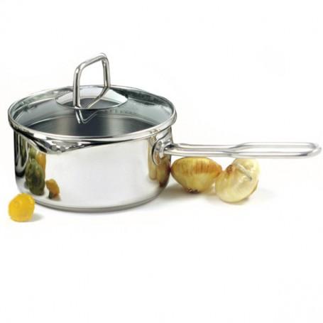 Norpro - 1.5 Quart Sauce Pan with Straining Lid