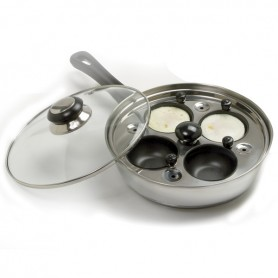 "8.5"" Egg Poacher Skillet Set"