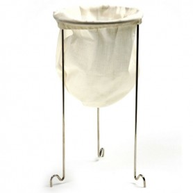 Jelly Strainer Stand with Bag