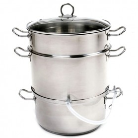 Stainless Steel Steamer and Juicer