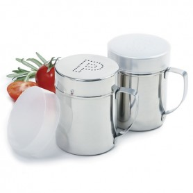 Stainless Steel Salt & Pepper Set