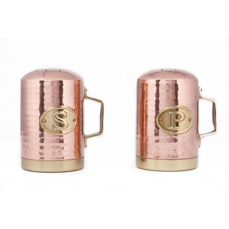 Copper Salt & Pepper Shaker Set