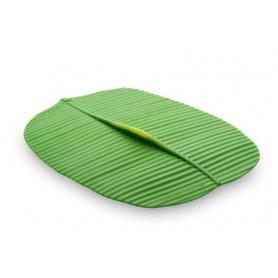 "10"" x 13"" Banana Leaf Style Silicone Lid"
