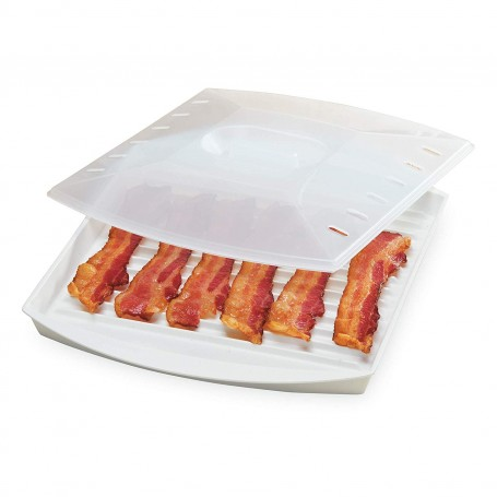 Microwave Bacon Grill with Cover