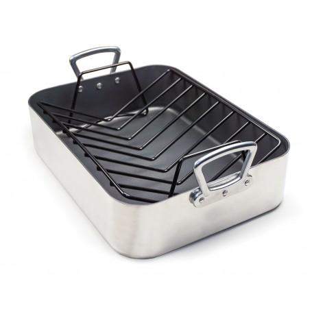 RSVP - Nonstick Lasagna and Roast Pan with Rack