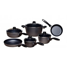 Swiss Diamond - 10 Piece Nonstick Ultimate Kitchen Set