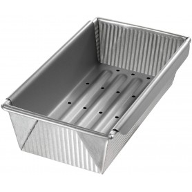 """USA Pan - 10"""" x 5.5"""" Nonstick Bread and Meat Loaf Pan with Insert"""