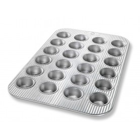 USA Pan - Nonstick Mini Muffin Pan - 24 Cups