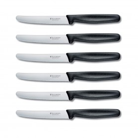 Victorinox - Set of 6 Round Tip Steak Knives