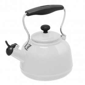 1.7 Quart, Enamel on Steel Tea Kettle