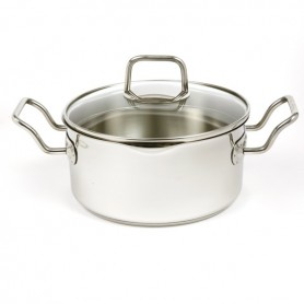 Norpro - Stainless Steel Vented Pot with Straining Lid