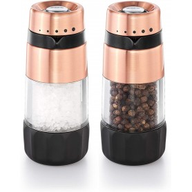 Accent Mess-Free Salt and Pepper Grinder Set