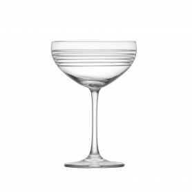 Set of 4 Crafthouse Classic Collection Coupe Champagne Glasses