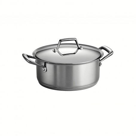 Tramontina - Prima Stainless Steel Covered Stock Pot
