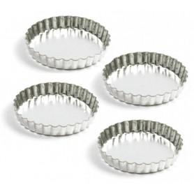 Set of 4 Mini Tart Pans