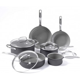 GreenPan - Chatham Ceramic Non-Stick 10 Piece Cookware Set