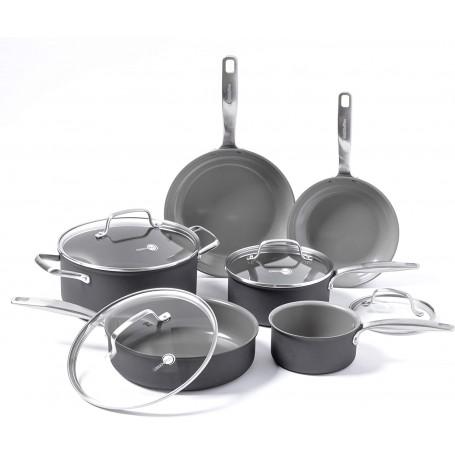 GreenPan - Chatham Ceramic Non-Stick 10 Piece Cookware Set