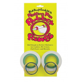 Rolling Hills Rolling Pin Rubber Rings