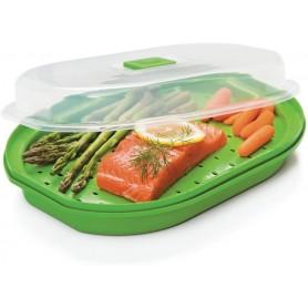 Prep Solutions Microwave Fish & Veggie Steamer