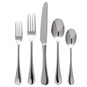 Gift of a 42 Piece Stainless Steel Flatware Set - Varberg