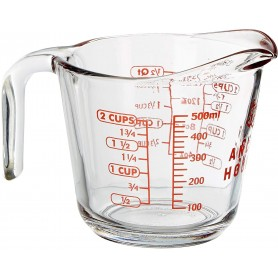 Gift of a 2 Cup Glass Measuring Cup