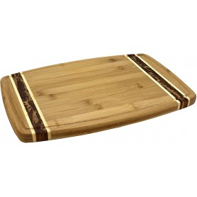 """Gift of a 18"""" x 12.5"""" Cutting Board with Juice Groove"""