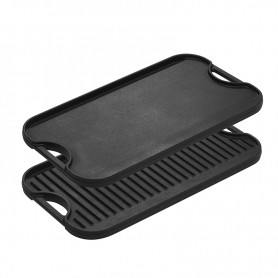 Lodge - 20 x 10.5 Inch Reversible Grill/Griddle