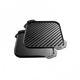 """Lodge - 10.5"""" Single Burner Reversible Grill / Griddle"""