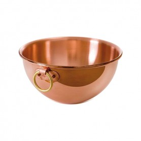 Mauviel - 5 Quart Copper Bowl with Ring