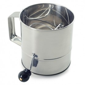 6.5 Stainless Steel 1.5 Quart Berry Colander""